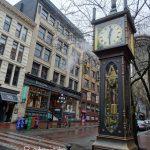 【カナダ・バンクーバー】蒸気時計台の想像と現実