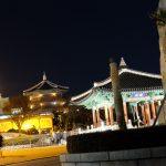韓国・釜山8【女一人旅】定番観光名所!夜の釜山タワー(2016年冬)