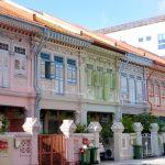 【シンガポール旅記録3/女一人旅】おすすめ観光スポット!カトン地区にプラナカン建築群を見に行った。(2017年GW)
