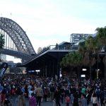 【オーストラリア・シドニー旅記録5】ハーバーブリッジとオペラハウスを見に行ったらすごい人混みだった。(女一人旅)