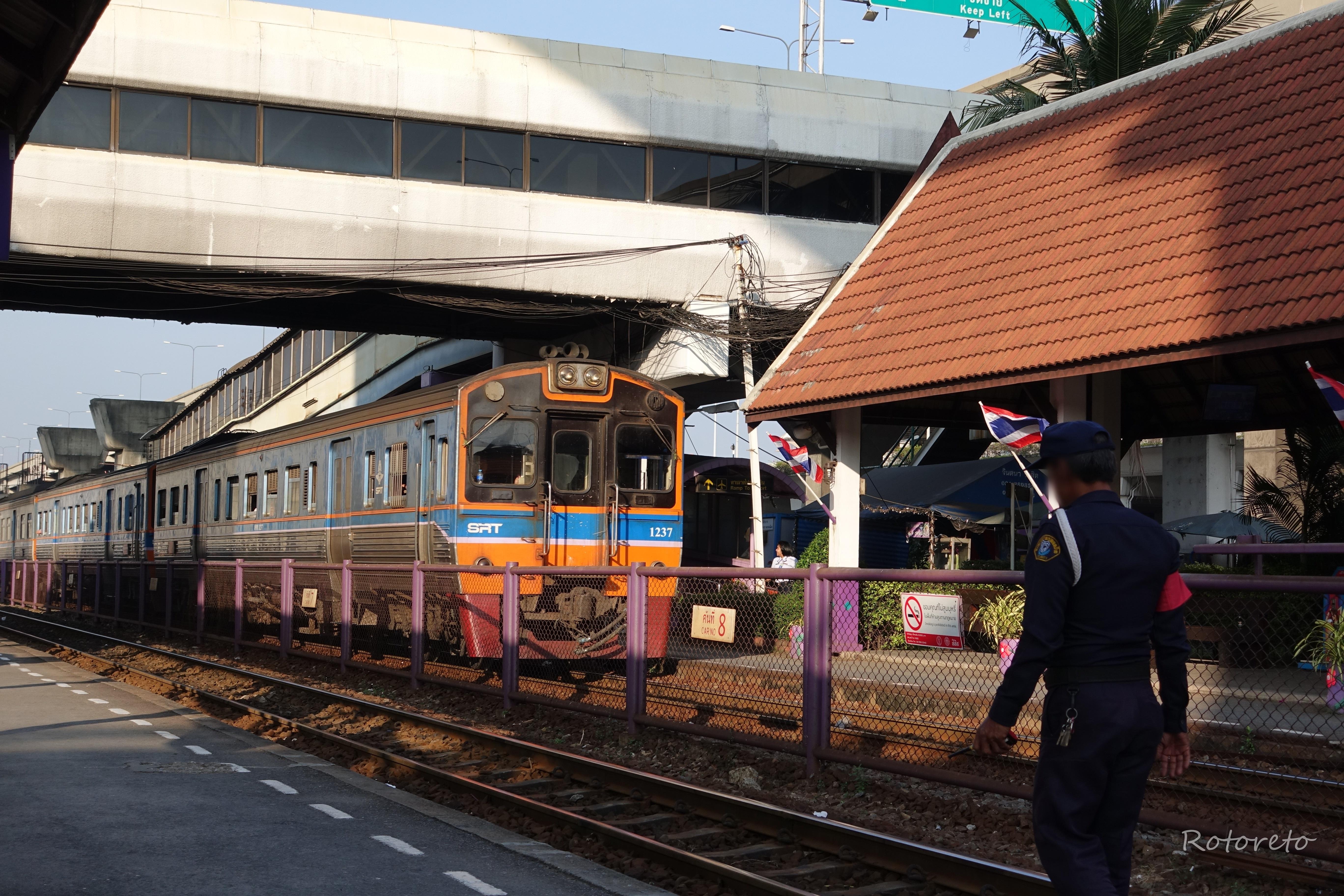 【タイ・バンコク2】ドンムアン空港から遺跡の町アユタヤへ(2017年11月)