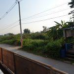 【タイ・バンコク3】遺跡の町アユタヤ行きの電車内(2017年11月)