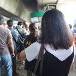 【タイ・バンコク11】BTSモーチット駅構内の混雑っぷりにビックリ(2017年11月)