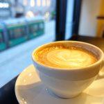 """【フィンランド・ヘルシンキ / 女一人旅】意外と目につきにくい?中心街にあるカフェ""""La Torrefazione""""(2018年2月)"""