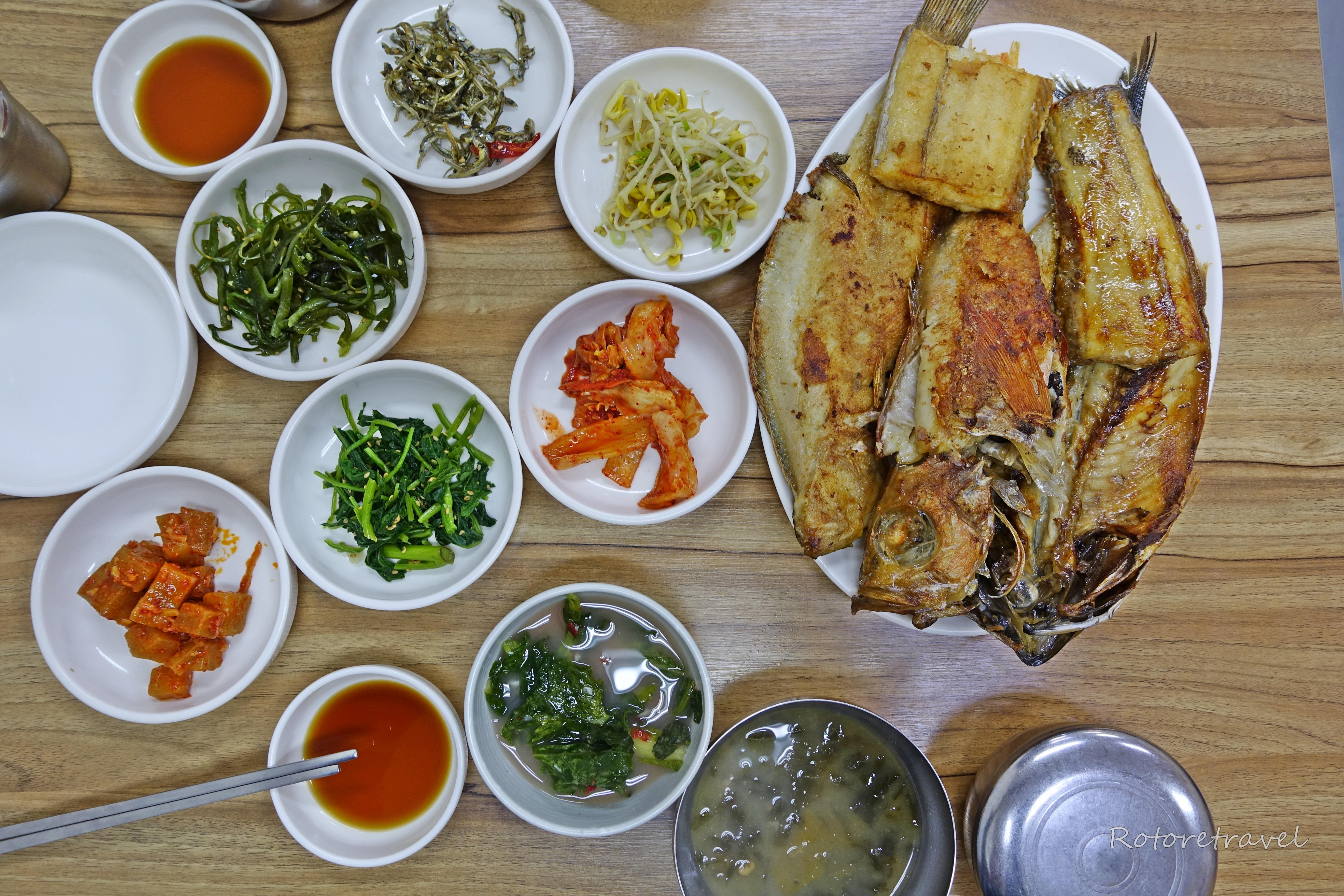 【韓国・釜山】追伸。そろそろ君もチャガルチ市場で焼き魚を食べるように。(2018年4月
