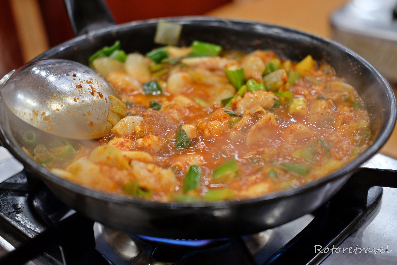 【韓国・釜山】おすすめグルメ!一度食べたらやみつきになる!24時間営業のナッチポッ