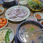 【韓国・釜山】真夏の海雲台市場でスンデクッパを食べて無駄に温まろう作戦(2018年8月)