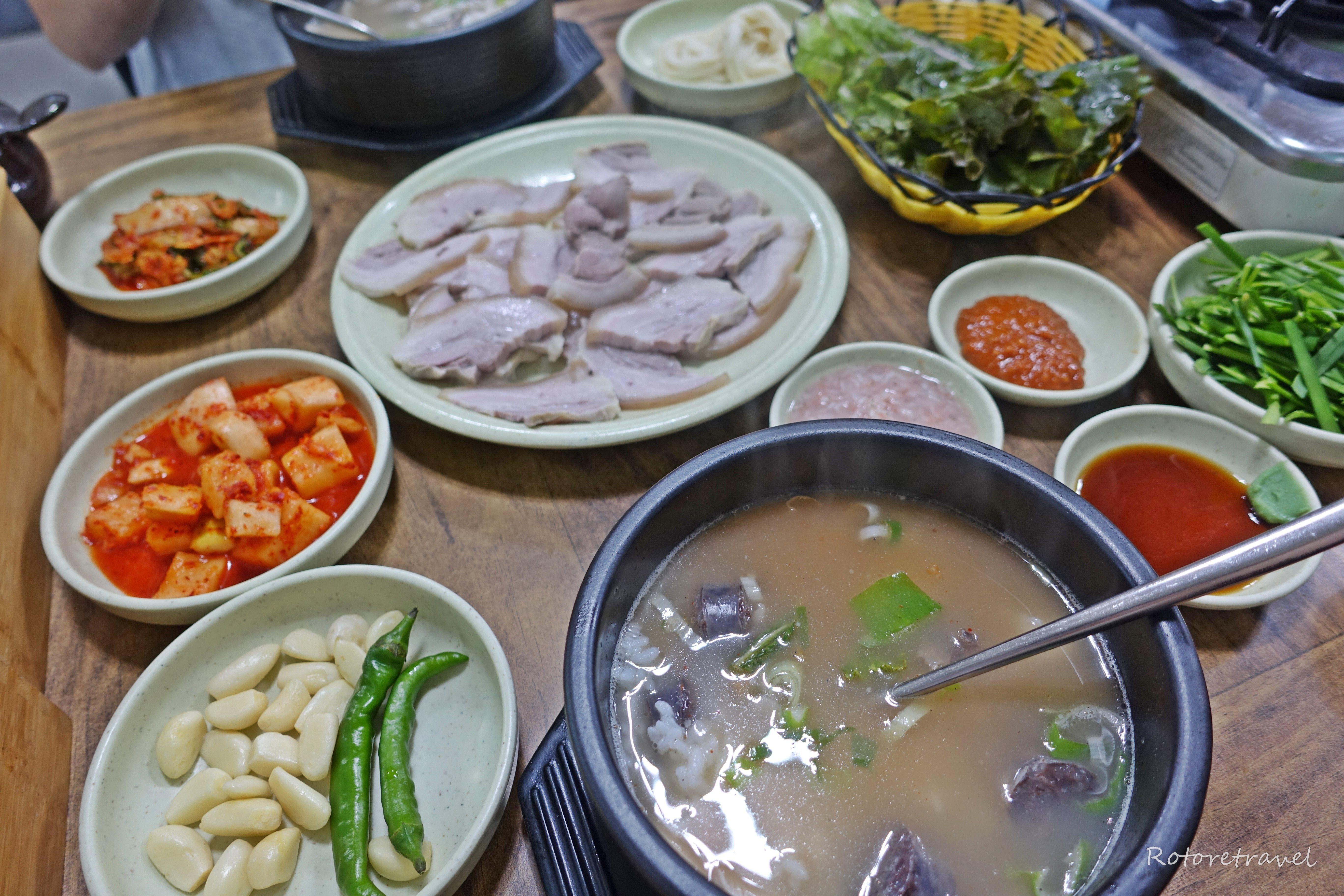 【韓国・釜山】真夏の海雲台市場でスンデクッパを食べて無駄に温まろう作戦(2018年8月