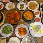 【韓国・釜山】24時間営業が嬉しい!早朝フライトでも韓国の田舎料理が楽しめる!(2018年8月)