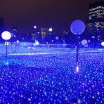 【東京/六本木】パールサファイアブルーの海でシャボン玉が舞う!東京ミッドタウンのイルミネーションが凄すぎた(2018年)