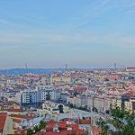 【ポルトガル・リスボン(女一人旅)】もしかして穴場?偶然見つけたリスボンの街並みが見渡せる場所(2019年2月)