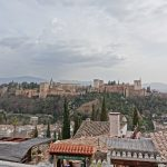 【スペイン・グラナダ(女一人旅)】サンニコラス展望台から絶景を見下ろすの巻(2019年2月)