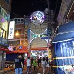 【韓国・釜山(女一人旅)】ホルモンからワッフルまである!夜の富平カントン市場で食べ歩き♪(2019年7月)