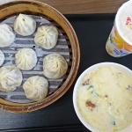 【台湾・台北(女一人旅)】朝ごはんにおススメ!地元民に愛される鼎元豆漿(ディンユエントウジャン)で小籠包を食す。(2019年11月)