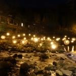 【熊本】女一人旅!黒川温泉で夜のイルミネーション「湯あかり」が幻想的過ぎる(2021年3月)